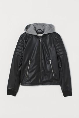 H&M Quilted Biker Jacket