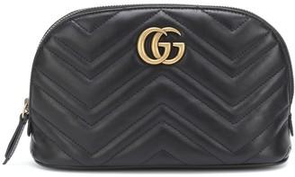 Gucci GG Marmont Medium leather cosmetics case