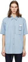 Solid Homme Blue Denim Shirt