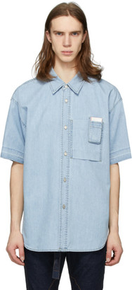 Solid Homme Blue Denim Shirt