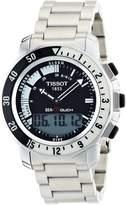 Tissot Men's T0264201105100 Sea Touch Quartz Chronograph Touch Screen Dial Watch