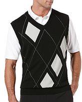 PGA TOUR® Asymmetric Argyle Sweater Vest