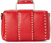 Urban Expressions Red Kimberly Studded Satchel