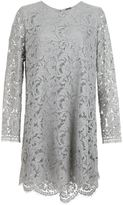 ADAM by Adam Lippes floral lace shift dress