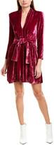 A.L.C. Kiera Silk-Blend Mini Dress
