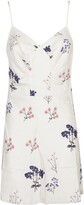 Thumbnail for your product : Self-Portrait Floral Printed Mini Dress