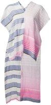 Lemlem semi-sheer stripe scarf
