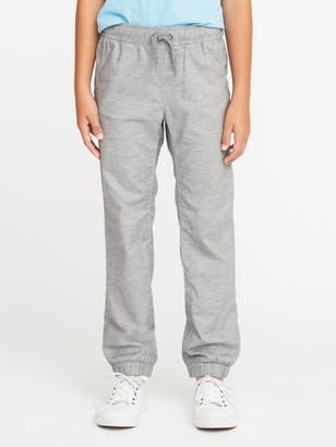 Old Navy Flat-Front Heathered Joggers for Boys