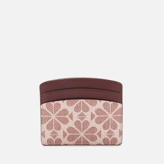 Kate Spade Women's Spade Flower Card Holder - Pink Multi