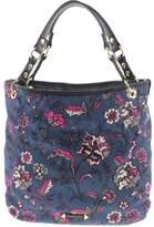 Franco Sarto Womens Cypruss Floral Print Reverisible Tote Handbag