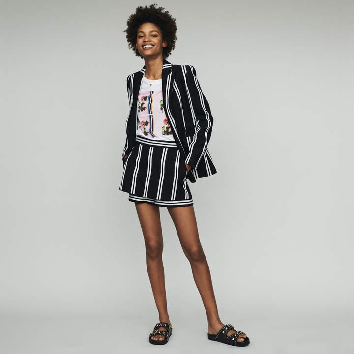 Maje Striped tailor jacket