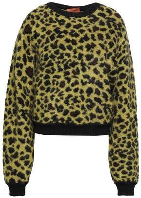 Missoni Brushed Leopard-jacquard Sweater