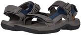 Teva Tanway Leather (Dark Gull Grey) Men's Shoes