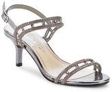 Caparros Happy Platino Metallic Slingback Sandals