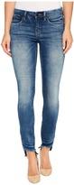 Blank NYC Crop Raw Edge Denim Skinny in Coffee Nap Women's Jeans