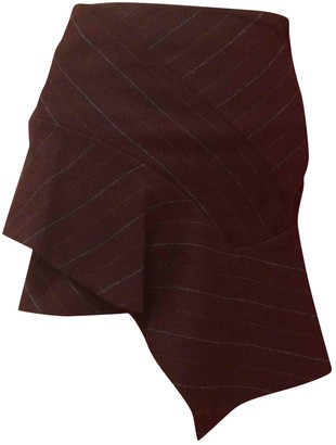 Isabel Marant Brown Linen Skirt for Women