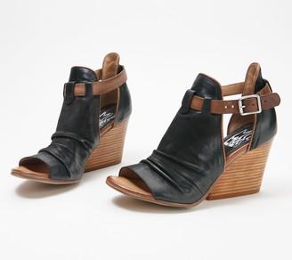 Miz Mooz Leather Wedge Sandals - Kismet