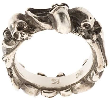 Werkstatt:Munchen Bones + Skulls ring