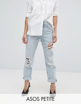 Asos Original Mom Jeans in Missouri with Rips