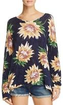 Show Me Your Mumu Floral Sweater