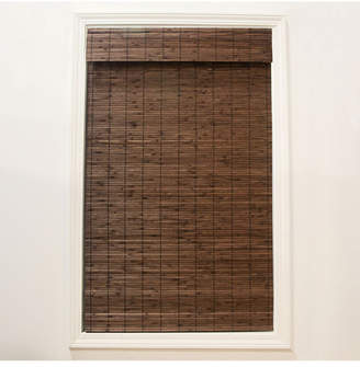 """Radiance Cordless Bamboo Dockside Privacy Weave Roman Shade, 34"""" x 64"""""""
