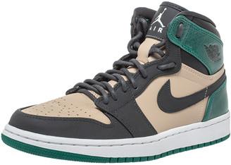 Air Jordans Air Jordan 1 x Nike Tricolor Leather Retro Celtics High Top Sneakers Size 38.5