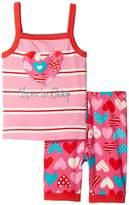 Hatley Crazy Hearts Tank PJ Set (Toddler/Little Kids/Big Kids)