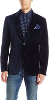 Calvin Klein Men's Velvet 2 Button Slim Fit Cotton Sport Coat