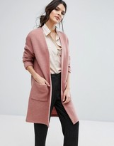 Selected Knitted Cardi Coat