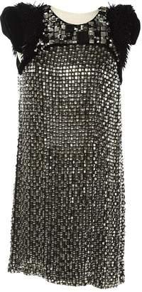 Gucci \N Silver Silk Dresses