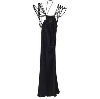 Collette Dinnigan Black Silk Dress for Women