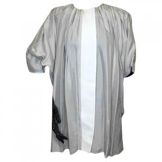 Balenciaga \N Grey Silk Tops
