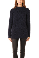 3.1 Phillip Lim Pullover with Exposed Zipper