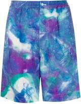 Marni tie-dye print shorts
