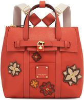 Henri Bendel Jetsetter Mini Backpack with Patches