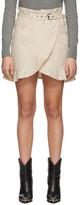 Etoile Isabel Marant Off-White Roan Miniskirt