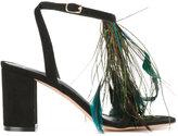 Jean-Michel Cazabat Solare sandals - women - Leather/Suede - 36