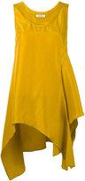 Dorothee Schumacher - elongated oversized knot blouse - women - Silk - 1