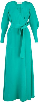 A.L.C. Nakia wrap style long dress