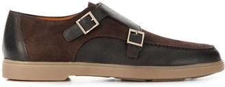 Santoni Double-Monk Loafers