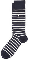 Polo Ralph Lauren Nautical-Striped Trouser Socks