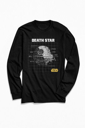 Urban Outfitters Star Wars Death Star Long Sleeve Tee