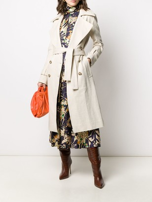 Victoria Beckham 70's Double-Breasted Trench Coat