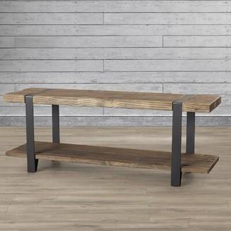 Trent Austin Designâ® Thornhill Solid Wood Shelves Storage Bench Trent Austin DesignA