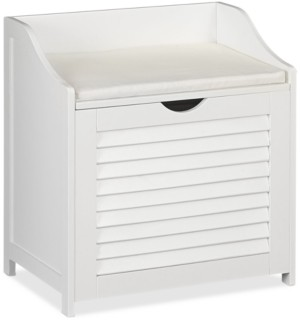 Household Essentials Single-Load Cabinet Hamper Seat