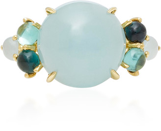 Daria de Koning Dagny 18K Yellow Gold Multi-Stone Grande Ring