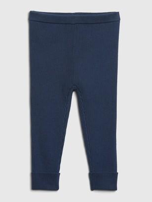 Gap Baby Ribbed Sweater Leggings
