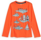 Tea Collection Toddler Boy's Fish & Ships Graphic T-Shirt