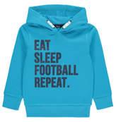George Football Slogan Hoodie