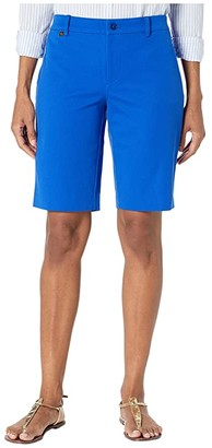 Lauren Ralph Lauren Bi-Stretch Twill Shorts (Blue Glacier) Women's Shorts